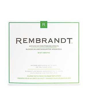 Rembrandt Advanced Whitening Strips