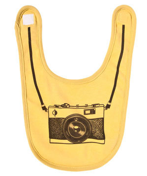 My First Camera Bib