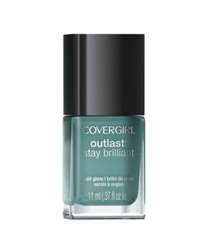 CoverGirl Outlast Stay Brilliant Nail Gloss in Mint Mojito 285