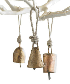 Mini Temple Bell Ornaments by VivaTerra