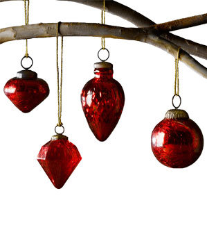 Vintage Handblown Ornaments by Restoration Hardware