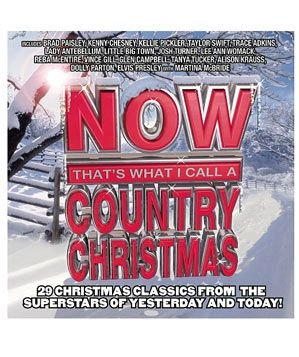 """Now That's What I Call a Country Christmas"" CD"