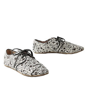 Modern Toile Oxfords by Anthropologie