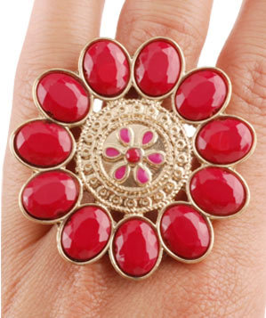 Cassia Flower Ring by ShopTheLook.net