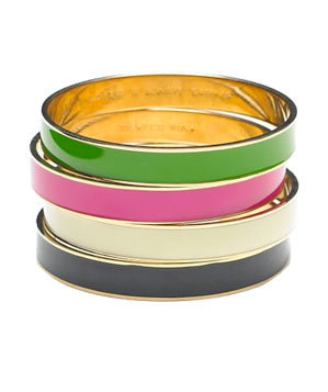 Idiom Bangle Bracelets by Kate Spade