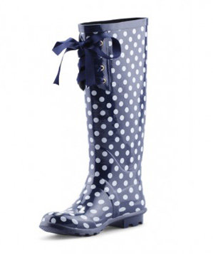 C. Wonder Lace-Up Rainboots