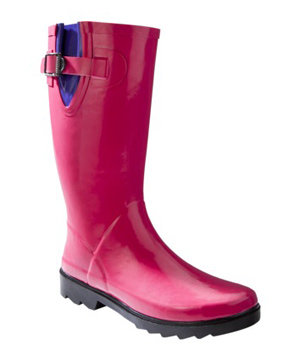 Merona Zora Rain Boot - Berry
