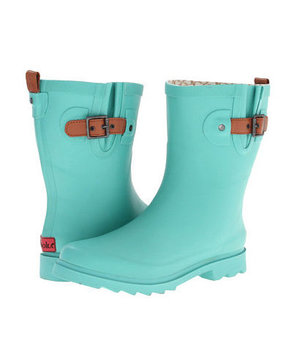 Chooka Top Solid Mid Rain Boot