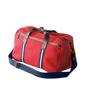 Lands' End Canvas Waxed Canvas Road Trip Bag