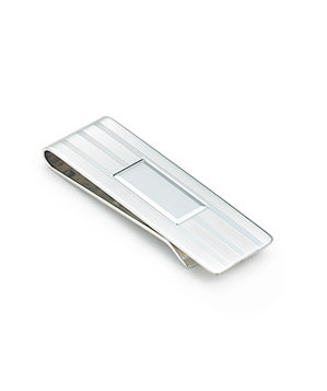 Tiffany & Co. Engine-Turned Money Clip