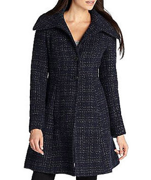 Nicole by Nicole Miller Fitted Coat