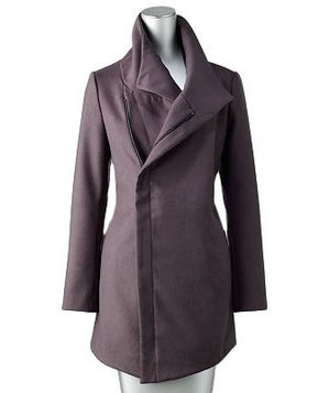 Simply Vera Vera Wang Solid Jacket