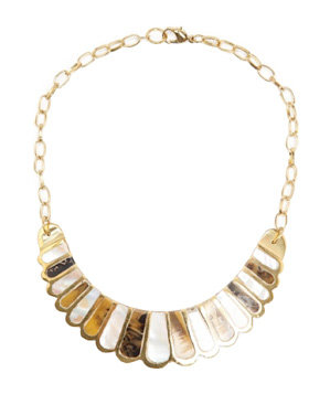 Mango Mother of Pearl Necklace