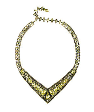 Chloe + Isabel Statement V-Collar Necklace