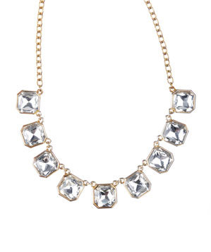 Chloe + Isabel Retro Glam Crystal Necklace