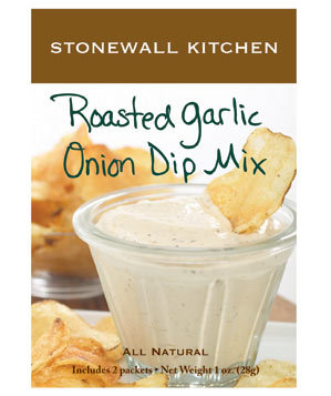 Stonewall Kitchen's Roasted Garlic Onion Dip Mix