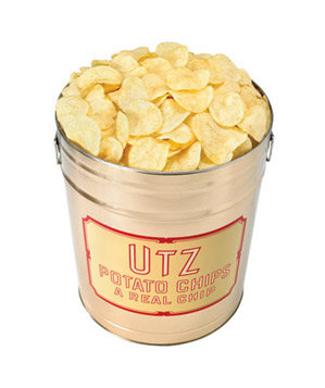 Utz Potato Chip Tin