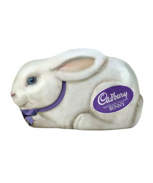 Cadbury Hollow Milk Chocolate Bunny