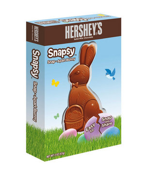 Hershey's Solid Milk Chocolate Snapsy Bunny