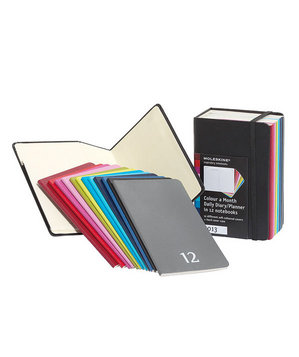 Moleskine 2013 Daily Planner Box Set