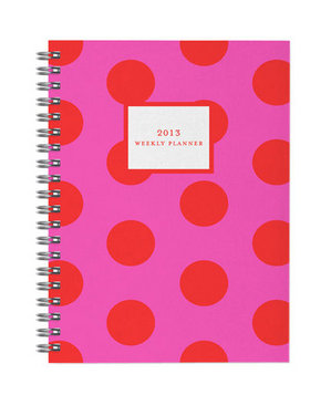 2013 Dot Weekly Planner