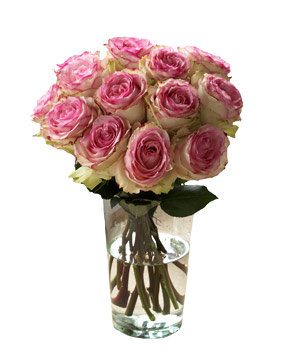 Organic Bouquet Crown Majesty Roses