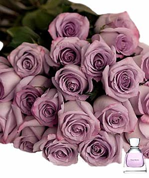 Lavender Rose Bouquet by Vera Wang