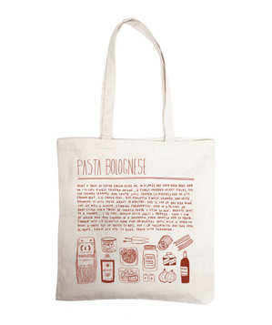 Pasta Bolognese Grocery Bag