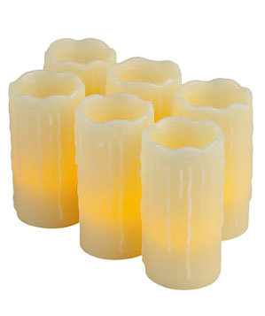LED Drip Pillars by Home Depot