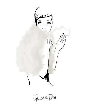 The Last Smoke by Garance Dore