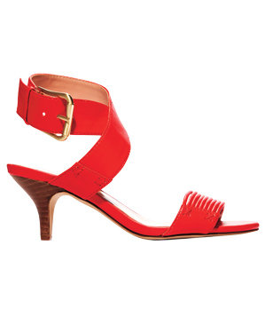 Penelope faux-leather sandals