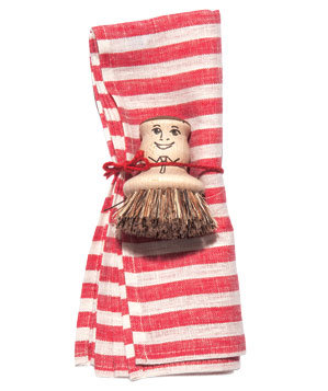 Redecker Pot Scrubber and Towel