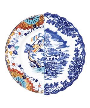 Juxtaposed Valdrada Porcelain Side Plate