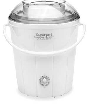 Cuisinart Classic Frozen Yogurt, Ice Cream & Sorbet Maker