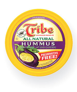 Tribe All Natural Hummus with Roasted Eggplant