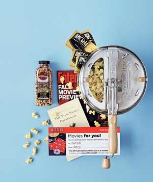 Film Buff gift basket