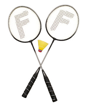 Franklin Sports Badminton/Volleyball Set