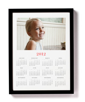 Annual Framed Calendar
