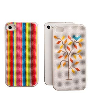 Leese Design iPhone Cross Stitch Case