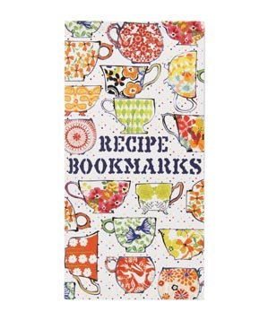 Recipe Bookmarks Book