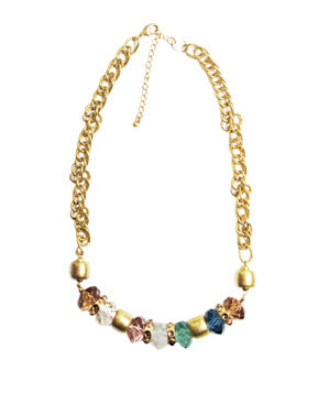 Sparkly Multicolored Necklace