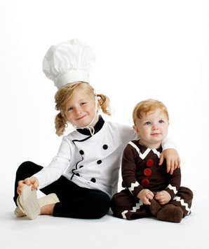 Baker and Gingerbread Boy costumes