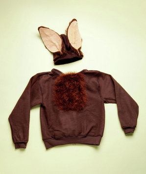 How to make hare costume