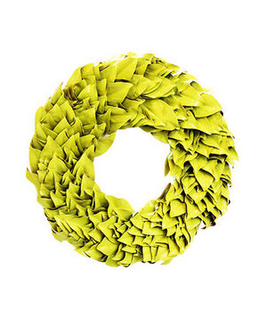 Limoncello Lacquer Wreath