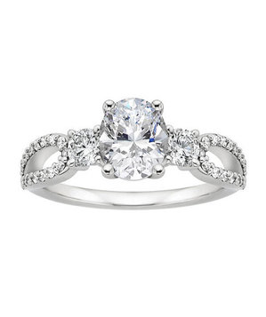 Brilliant Earth Lumiere Engagement Ring