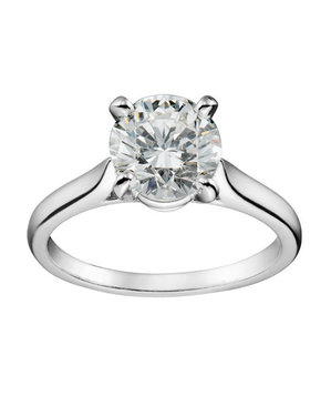 Cartier Solitaire 1895 Engagement Ring