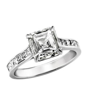 David Alan Jewelry Engagement Ring