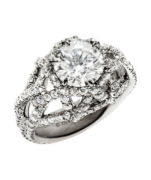David Yurman Engagement Ring