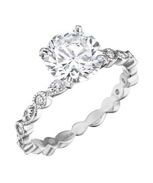 Mimi So Madrid Diamond Engagement Ring