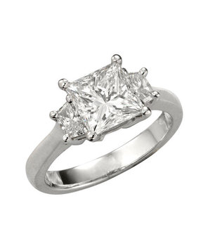 Premier Gem for Forevermark Princess Cut Diamond Ring